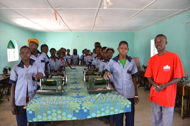 Sewing machines for Burkina Faso