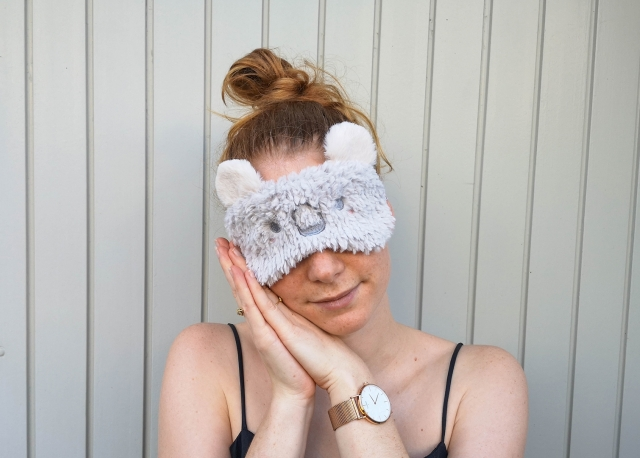 Sew sleeping mask